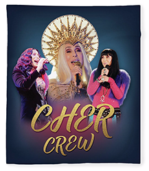 Cher Crew Fleece Blanket