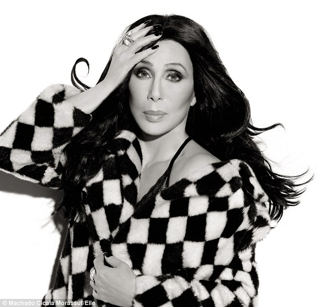 Cher in Elle Mag